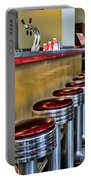 Americana - 1950's Diner Portable Battery Charger