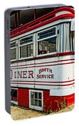 Americana Classic Dinner Booth Service Portable Battery Charger