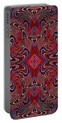 Americana Swirl Banner 1 Portable Battery Charger