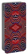 Americana Swirl Banner 2 Portable Battery Charger