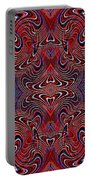 Americana Swirl Design 2 Portable Battery Charger