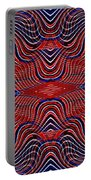 Americana Swirl Design 9 Portable Battery Charger