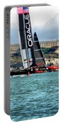America's Cup And Alcatraz Portable Battery Charger