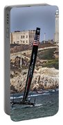 Americas Cup Oracle Team And Alcatraz Portable Battery Charger