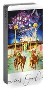 America's Great Venues Portable Battery Charger by Joshua Morton