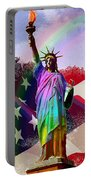 America's Statue Of Liberty Portable Battery Charger