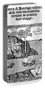 Amerigo Vespucci, 1505 Portable Battery Charger