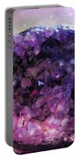 Amethyst  Portable Battery Charger
