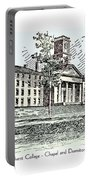 Amherst College - Chapel And Dormitories Portable Battery Charger