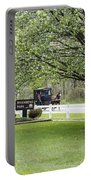 Amish Buggy At Riverbend Park Portable Battery Charger