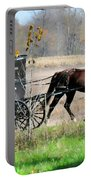 Amish Buggy Portable Battery Charger