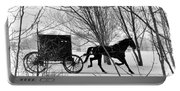 Amish Buggy Revised Portable Battery Charger