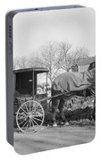 Amish Carriage, 1942 Portable Battery Charger