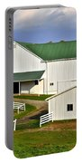 Amish Country Barn Portable Battery Charger by Frozen in Time Fine Art Photography