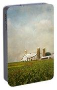 Amish Farmland Portable Battery Charger