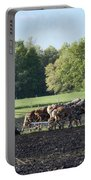 Amish Plowing Field Portable Battery Charger