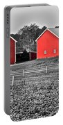 Amish Red Barn And Farm Portable Battery Charger