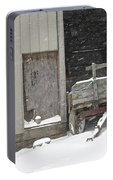 Amish Snowfall Portable Battery Charger
