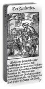 Amman: Dentist, 1568 Portable Battery Charger