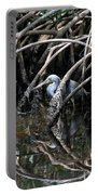 Among The Mangrove Roots Portable Battery Charger