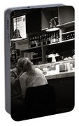 Amor In A Madrid Bar - Spain Portable Battery Charger