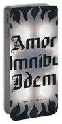 Amor Omnibus Idem Portable Battery Charger