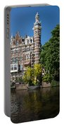 Amsterdam Canal Mansions - The Dainty Tower Portable Battery Charger