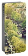 Amsterdam Holland Netherlands In Vintage Style Portable Battery Charger