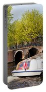 Amsterdam In Spring Portable Battery Charger