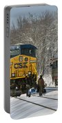 Amtrak And Csx Crews Portable Battery Charger