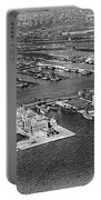 An Aerial View Of Ellis Island Portable Battery Charger