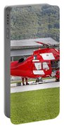 An Agustawestland Aw109 Helicopter Portable Battery Charger
