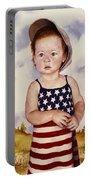 An All American Girl Named Ireland Portable Battery Charger