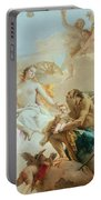 An Allegory With Venus And Time Portable Battery Charger