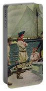 An American Privateer Taking A British Prize, Illustration From Pennsylvanias Defiance Portable Battery Charger