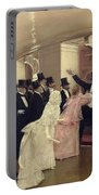 An Argument In The Corridors Of The Opera Portable Battery Charger