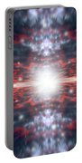 An Artists Depiction Of The Big Bang Portable Battery Charger by Marc Ward