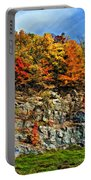 An Autumn Day Painted Portable Battery Charger