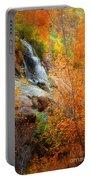 An Autumn Falls Portable Battery Charger