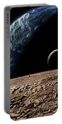 An Earth-like Planet In Deep Space Portable Battery Charger by Marc Ward