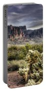 An Evening At The Superstitions Portable Battery Charger