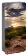 An Evening In The Desert  Portable Battery Charger