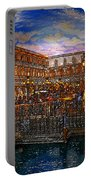 An Evening In Venice Portable Battery Charger by David Lee Thompson