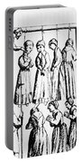An Execution Of Witches In England Portable Battery Charger