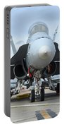 An Fa-18d Hornet On The Ramp At Marine Portable Battery Charger