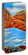 An Impression Of Arches National Park Portable Battery Charger
