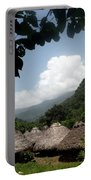 An Indigenous Village In The Jungles Portable Battery Charger