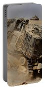 An Israel Defense Force Caterpillar D-9 Portable Battery Charger