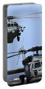 An Mh-60s Sea Hawk Approaches Portable Battery Charger