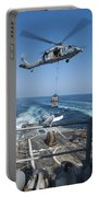 An Mh-60s Sea Hawk Brings Pallets Portable Battery Charger